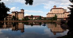 Broadmoor Hotel vista