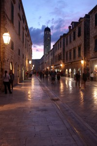Glow of the Old City. Dubrovnik, Croatia