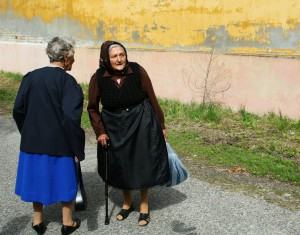 Hungarian Nagyanyos - Grandmas in a village
