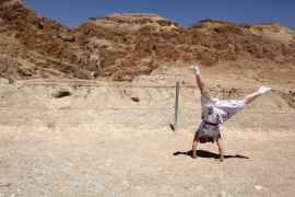 Quram, Israel - Where the Dead Sea Scrolls were found. 2011