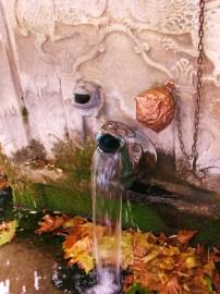 Fountain near Agria