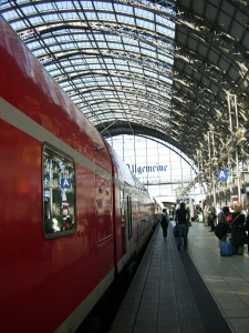 Frankfurt train station